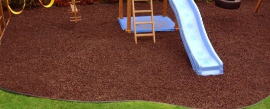 Backyard Playset Tips: Weed Block, Borders & Mulch
