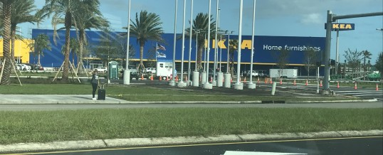 No…the Big Blue Swedish Store (BBSS) in Jacksonville ISN'T open yet ☹